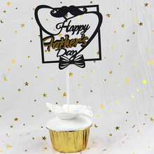 Cake Flags Happy Father's day Cupcake Cake Topper Toppers Kids Birthday Wedding Bridal Cake Wrapper Party Baking DIY Xmas cake flags happy mother s day best mom cupcake cake topper toppers kids birthday wedding bridal cake wrapper party baking diy