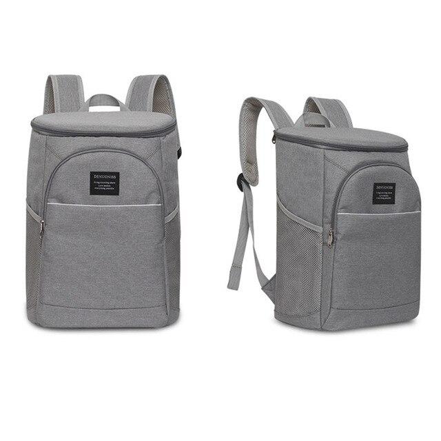 Camping Cooler Bag Nevera Portatil Portable Insulated Waterproof Food Cooler Insulation Bag for Camping Picnic Beer Beverages