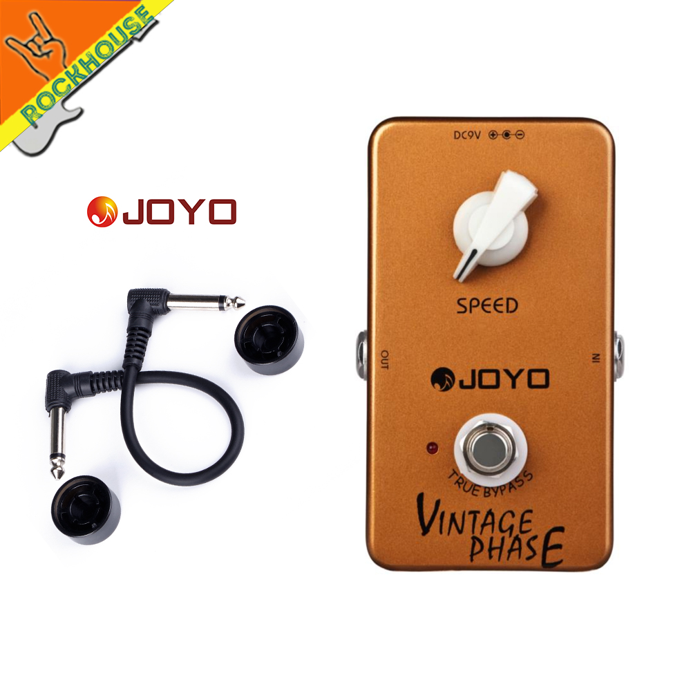 JOYI JF-06 Vintage Phase guitar effect pedal sounds of the 70s Van Halen wide spacy  eerie phase