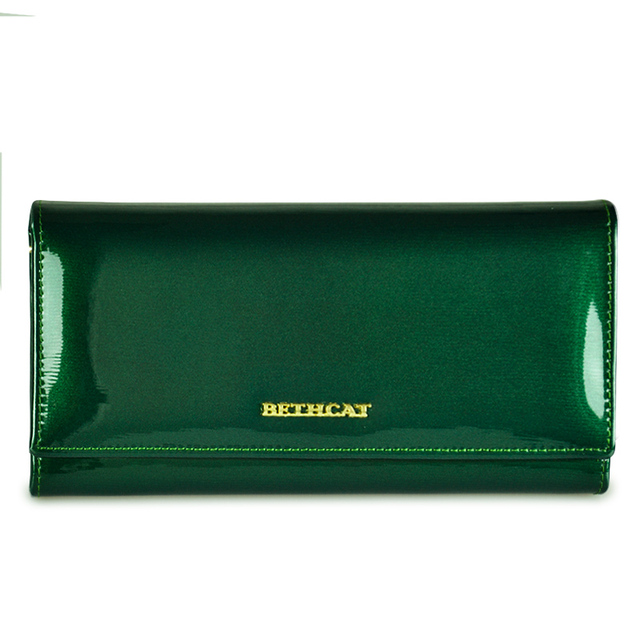82f91668a93 Beth Cat Women Wallets Genuine Leather Wallet Female Hasp Long Purses Solid  High Quality Caeds Hoder