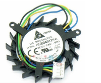 Delta KUB04512HA 5010 44mm durchmesser lochabstand 39mm 4 linie 4 pin kleine turbo fan karten