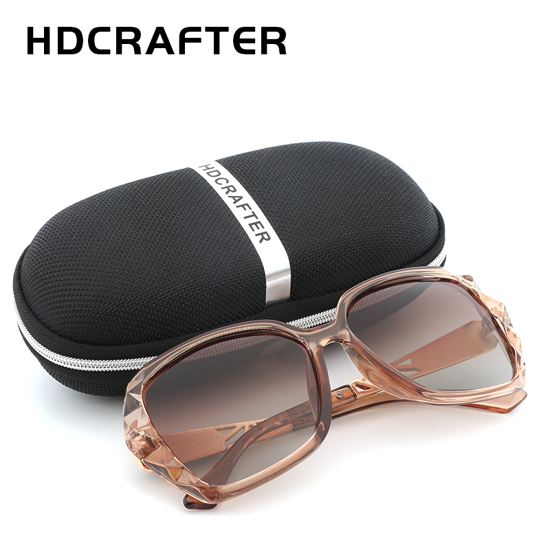 Sunglasses Women Polarized Ladies Brand Design Retro Sunglasses Vintage Oversized Sun Glasses UV400 Fashion Oculos Feminino