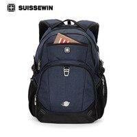 Suissewin 2017 New Brand Men S Backpack Waterproof Women 15 6 Inch Laptop Travel Backpack Bagpack