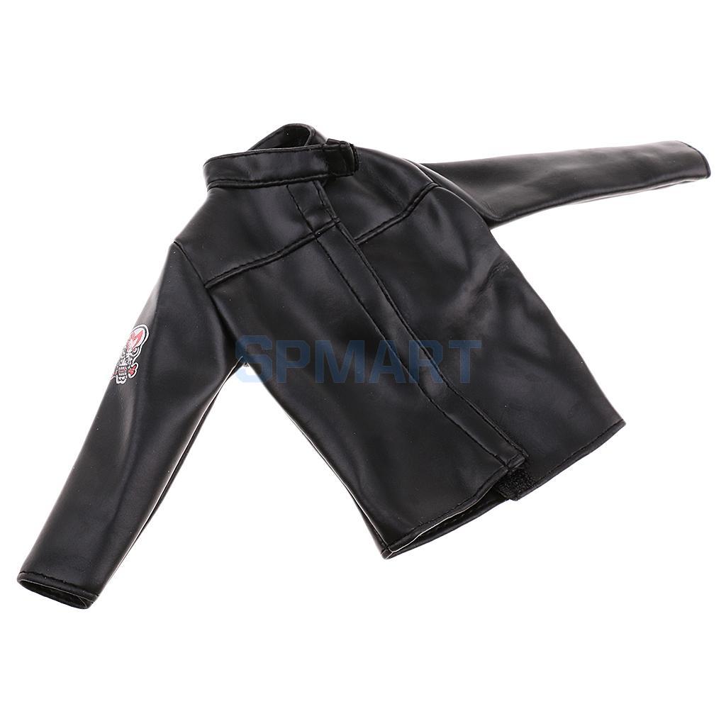 Pour Homme Phicen Pu 16 Toys Veste Échelle Vêtements Accessoires '' Poupées 12 Hot Acheter Manteau En Cuir Noir QrCWEdxeBo