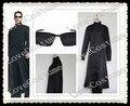 The Matrix NEO señor Thomas Andersen ropa con gafas Cosplay traje hecho a medida