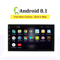 2din Car Radio Android 8.1 Universal GPS Navigation wifi Bluetooth Touch screen Car Audio Stereo RDS Car Multimedia radio Player