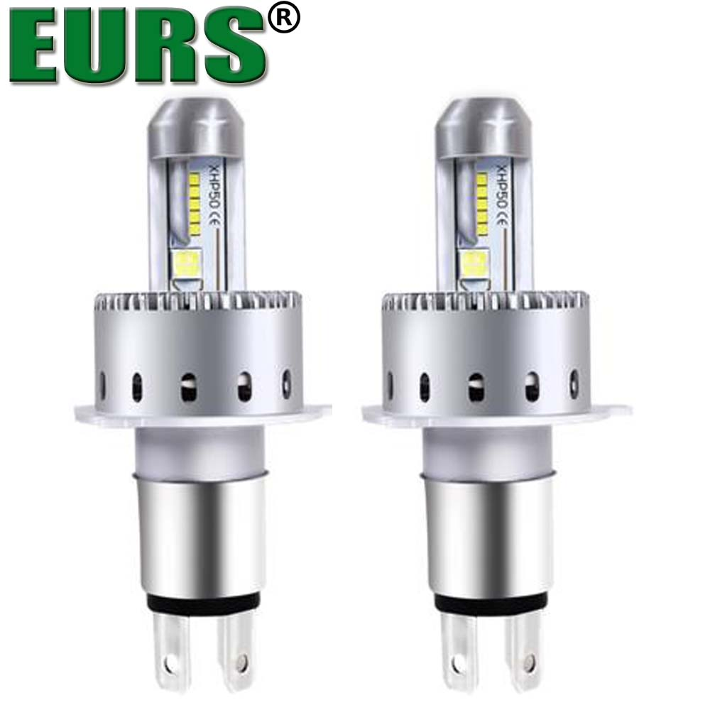 2pcs LED lights bulb H1 H3 H11 880 9005 9006 9007 for universal car LED Headlamp Kit canbus LED headlight 12v 40w 6500k 8000lm