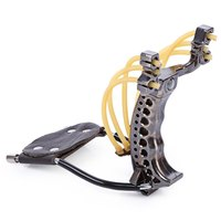 Camouflage Hunting Bow Hunting Slingshot Rubber Bands Folding Wrist Slingshot Outdoor Powerful Tools For Hunting