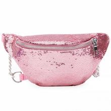 Bling Sequins Waist Bag Double Color Sequins Makeup Bag Mermaid Wallet  Purses Chest Pack Women Girl 2e6bde908a70