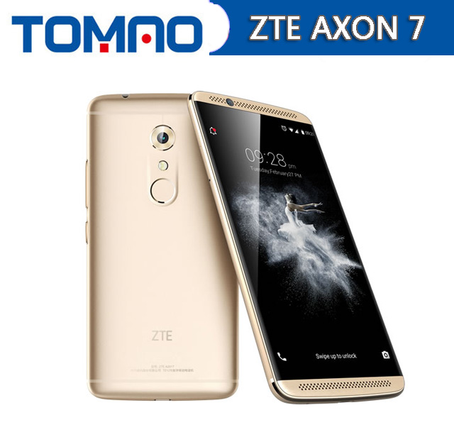 NEW ZTE Axon 7 4G LTE Smart Phone Snapdragon 820 Android 7 0 5 5 2K