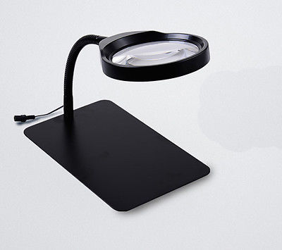 Magnifying Glass Magnifying Lens with 36 LED Lights 10 Times LXM 100 times way handheld magnifying glass for prining