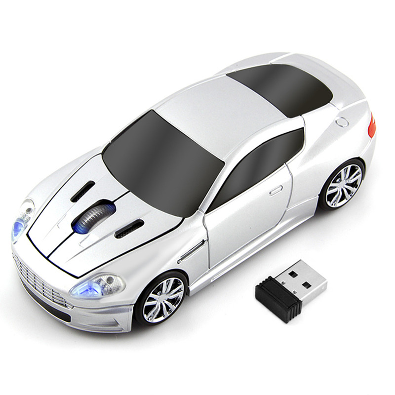 2.4G Wireless Mouse New Cardin Car Gaming Mouse 1600DPI Optical Mice Computer Gamer Mause For PC Laptop Desktop|Mice| |  - title=