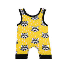 Cute Infant Newborn Kids Baby Boy Bear Romper Clothes Outfits 0-24M(China)