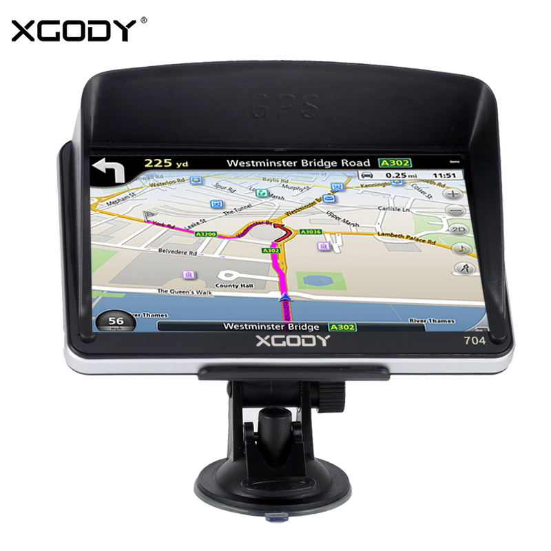 Pouces 886 Voiture Gps Xgody 7 Bluetooth Camion 256 M8g In Av dBrWCxeo
