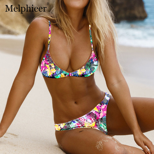 99433f8f87 Brazilian Mini Bikini 2019 Biquini Push Up Swimsuit Sexy Micro Bikini Set Low  Waist Swimwear Women Bathing Suit Maillot De Bain