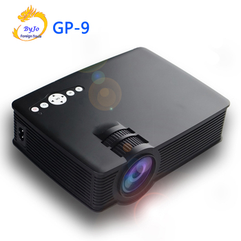Poner Saund GP-9 Mini LED projector 3D Multimedia Projector Full HD Home theater projector Video Portable Cinema proyector GP9