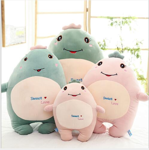 WYZHY Hug dragon plush toy expression dragon sofa bedroom decoration send friends children gifts 40CM in Stuffed Plush Animals from Toys Hobbies