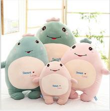WYZHY Hug dragon plush toy expression sofa bedroom decoration send friends children gifts 40CM