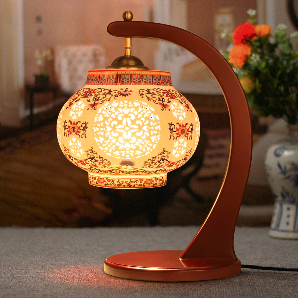 Antique Living Room Study Retro Vintage Table Lamp Old Fashion