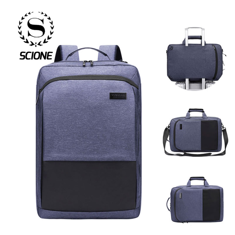 Scione Multifunction Laptop Backpack Men Waterproof Business Casual Crossbody Shoulder Tote Bags Leisure School Office Back PackScione Multifunction Laptop Backpack Men Waterproof Business Casual Crossbody Shoulder Tote Bags Leisure School Office Back Pack