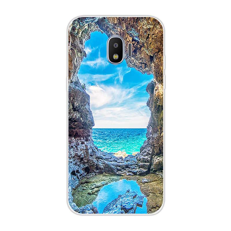 Para Samsung Galaxy J1 2016 J120 J2 primer núcleo Pro 2018 suave de la caja del teléfono del Wolf funda para Galaxy J4 j6 más J7 Grand Prime