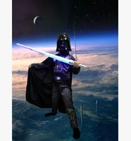 Black Warrior Costumes Star Wars Costume Adult Halloween Costumes For Boys Masquerade Cosplay Knight Costumes