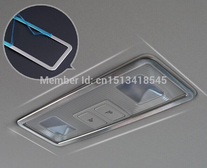 Edelstahl auto hinten leselampe/dach licht dekoration rahmen ...