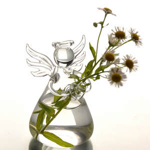 Container Angel-Vase Wedding-Decoration-Accessories Flower-Arrangement Home Hydroponic
