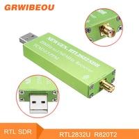 RTL SDR 0.5 PPM TCXO RTL2832U R820T2 RTL SDR Receiver USB AM FM Software Defined Radio Receiver Scanner Android TV Tuner VHF UHF