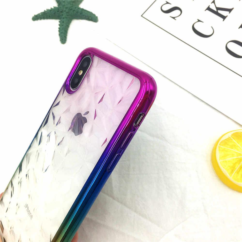 P20 Lite Ốp Lưng 3D Họa Tiết Kim Cương Mạ Dành Cho Huawei P20 P20Pro Nova3e Nova 3i Nova 2i Coque Mềm TPU capa Cho Huawe