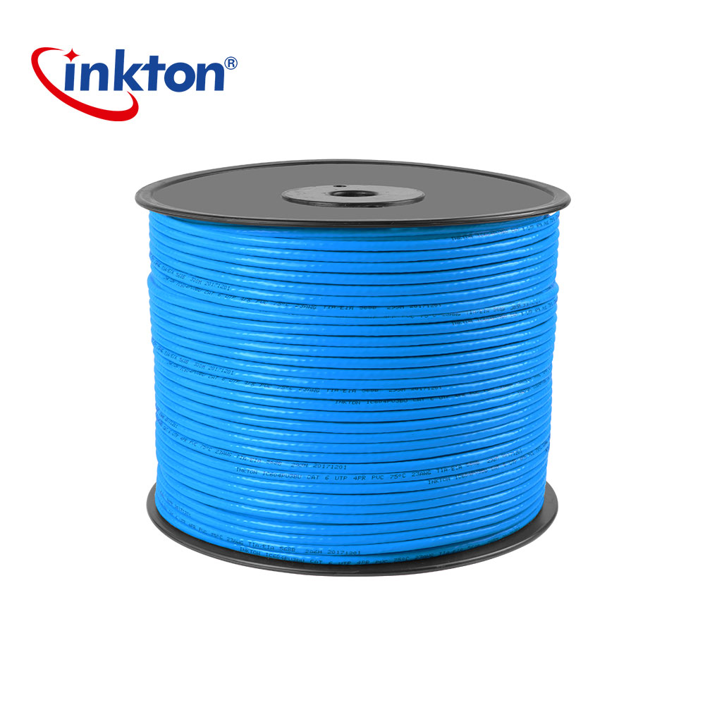 Inkton Cat6 Ethernet Cable Utp Lan For Home Network Wiring Engineering 23awg 50m 100m 305m Unshielded Twisted Pair Copper In Cables From