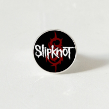 New Slipknot ring Glass rings Rock Band Dome silver color