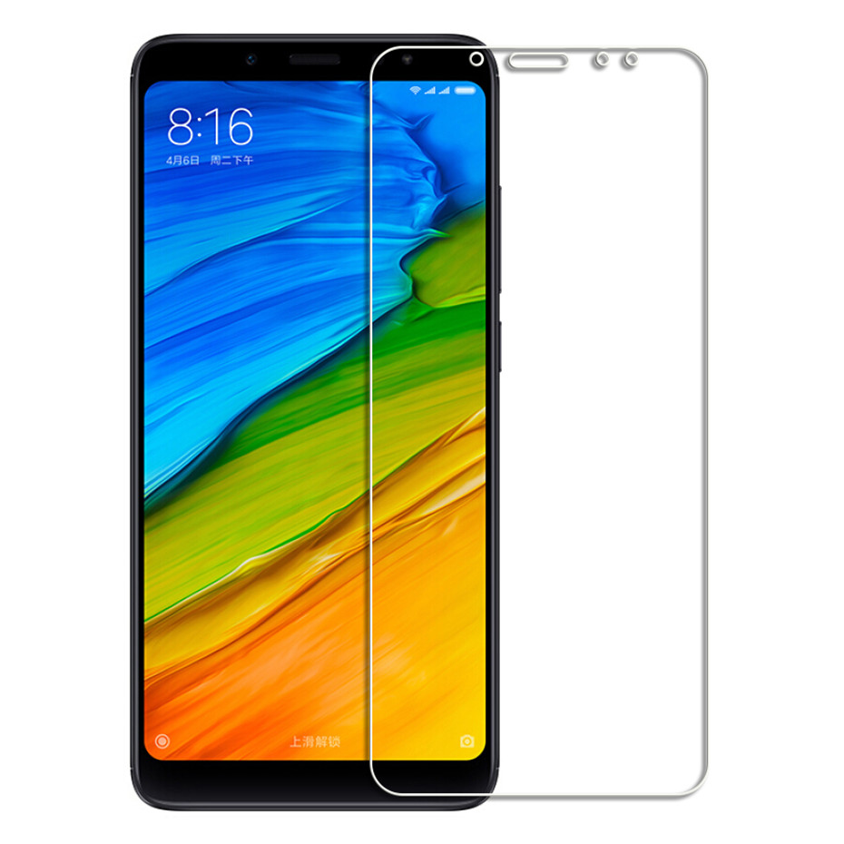 Image 2 - Screen protector for xiaomi redmi 5 5 plus 4X 4A 5A 6A tempered glass for xiomi redmi 6 6 pro Note 5 note 4x protective film-in Phone Screen Protectors from Cellphones & Telecommunications