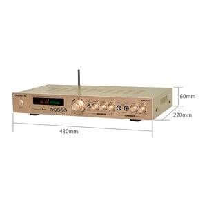 Image 2 - SUNBUCK 5 CH ハイファイ Bluetooth ステレオ AV アンプホームシアターオーディオプロのカラオケラジオ Bluetooth の電源アンプ 300 ワット