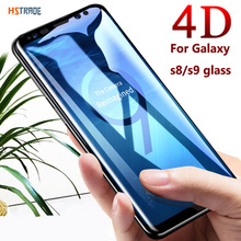 4D curved Full cover Tempered glass film for Samsung note 8 9 S8 S9 plus Glasses for Galaxy S6 edge s7 s10 5g screen protector все цены