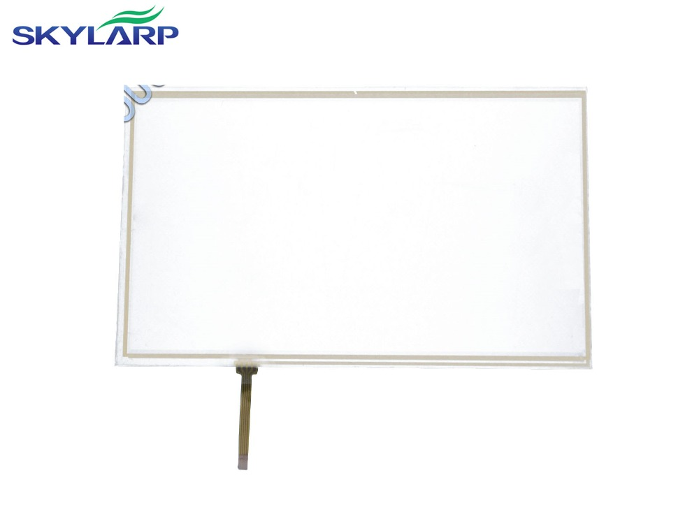 NEW 10.1 Inch 4 Wire Resistive Touch Screen Panel for 10inch B101AW03 235*143mm Screen touch panel Glass Free shipping