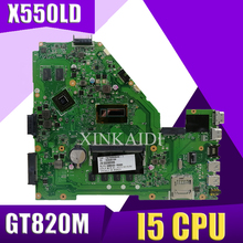 XinKaidi X550LD материнская плата для ноутбука ASUS X550LD X550LC X550LN X550L тестовая материнская плата I5 cpu GT820M