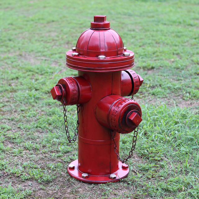 american loft style retro resin fire hydrant model 1pc gifts crafts