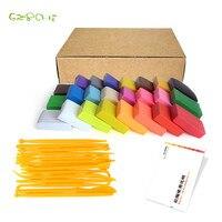 24 colores fimo arcilla del polímero de cocer al horno con herramientas de BRICOLAJE juguetes Educación Temprana brinquedo fashional de arcilla blanda