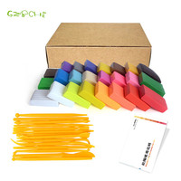 24 Colors Oven Bake Fimo Polymer Clay With Tools DIY Toys Early Education Brinquedo Fashional Soft