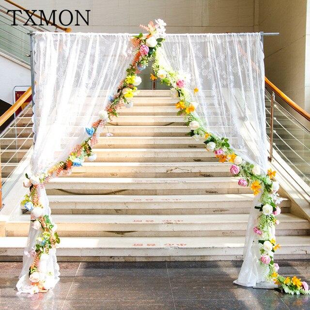 Dekoracje ślubne Symulacji Kwiat Jedwabiu Sztuczny Kwiat Liny Studio
