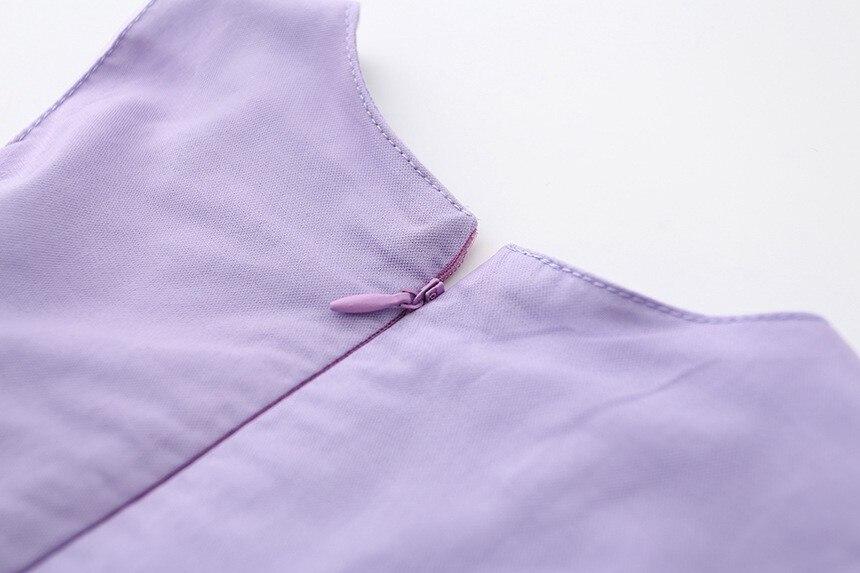 VIMIKID 17 New Girls tutu dress + belt flowers gauze children princess vest dress Girls lace dress kids clothes pink purple 20