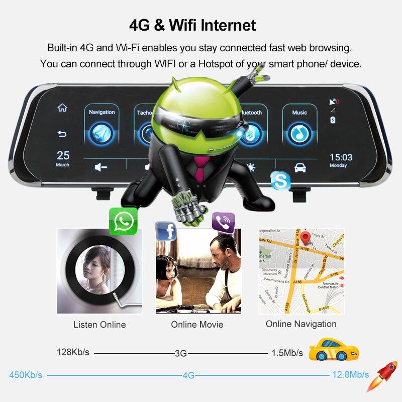 XPX Автомобильный видеорегистратор 3 в 1 G616 STR видеорегистратор с разрешением Full HD камера заднего вида GPS детектор радаров dvr противорадиолока... - 2