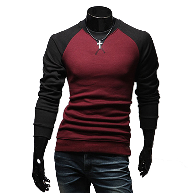 Buy 2015 hot sale men 39 s t shirts fashion for Mens long sleeve t shirts sale