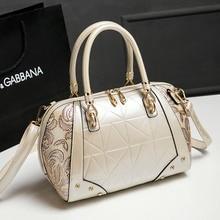 XF0609 Al Por Mayor de Europa y Estados Unidos Mujer de gama Alta de Moda Almohada De Cuero Genuino Bolso de Señora handbag