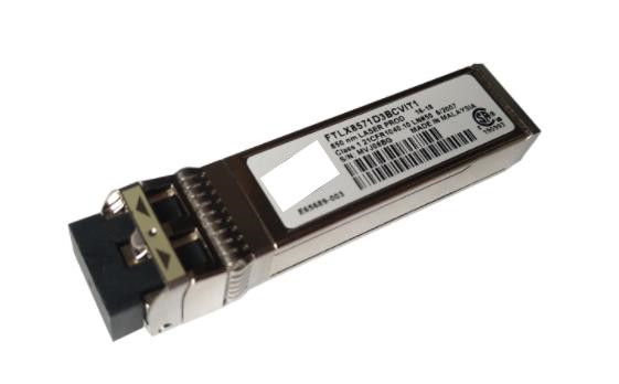 FTLX8571D3BCV-IT E65689-001 SFP+ Transceiver For X520-DA2/SR2 <font><b>E10GSFPSR</b></font> 850nm 300m image