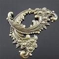 Wholesale 12pcs Antique Bronze Zinc Alloy  Lovely Flower Swirl Charms Necklace Pendants fashion jewelry finding 63x40*2mm 30666
