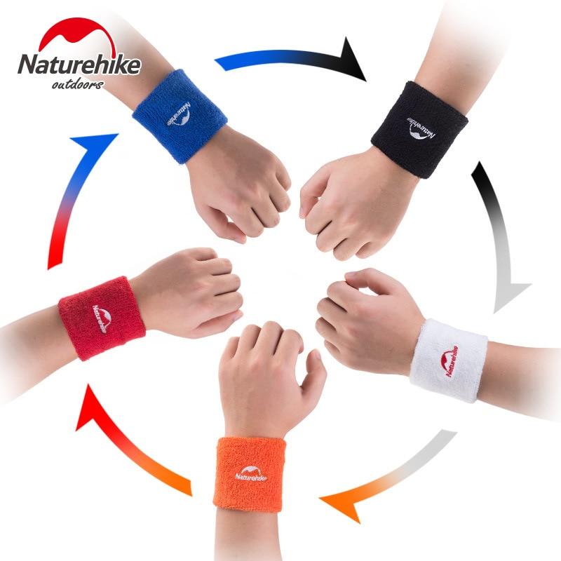 Naturehike Gym Protector Wrist Support Sport Wrist Brace Sweat Sweat Cotton Men Row Basketball Feather Tennis Sports Wrist
