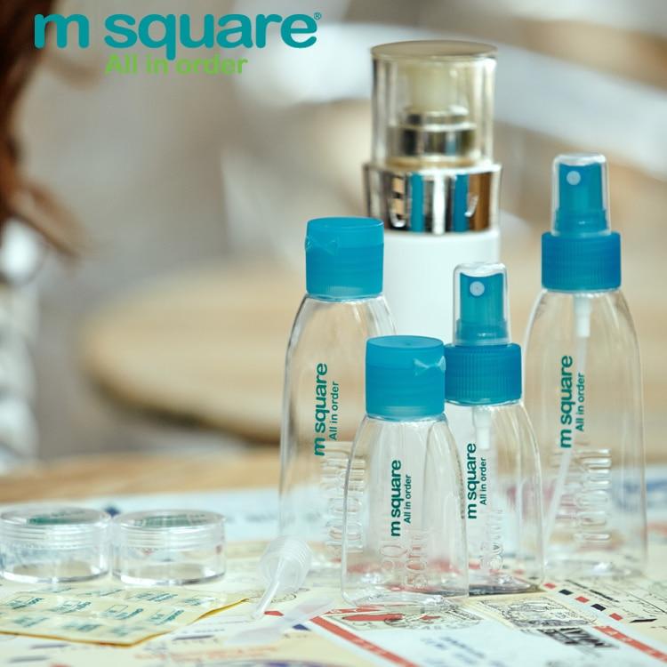 M Square Accesorii de călătorie pentru parfum Bottle Parfum Spray Bottle Reîncărcabile Sticle goale Cosmetice Container