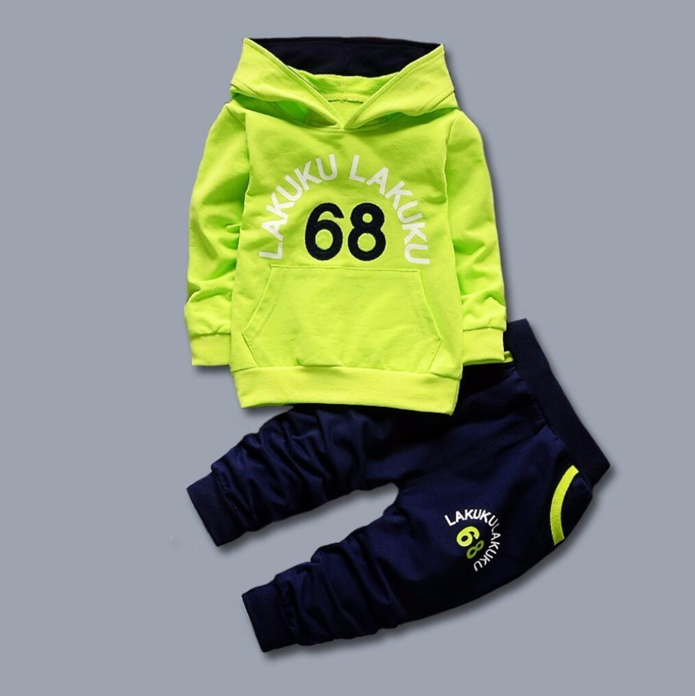 Children Clothing Set Baby's Sets 100% cotton Kids Hoodies Boy Outfit Sports Suit 1-5T Boys Girls Suits Cotton Child Clothes 2016 brand kids boys underwear baby girls clothing set kids sports suit cotton 100